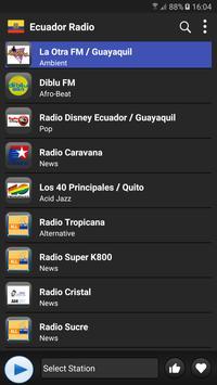 Radio Ecuador  - AM FM Online ポスター