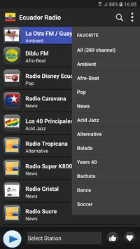 Radio Ecuador  - AM FM Online screenshot 1