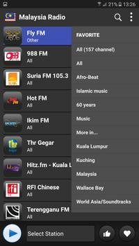 Malaysia radio online free تصوير الشاشة 1