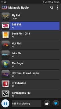 Malaysia radio online free screenshot 2