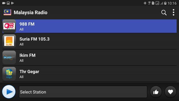 Malaysia radio online free screenshot 4