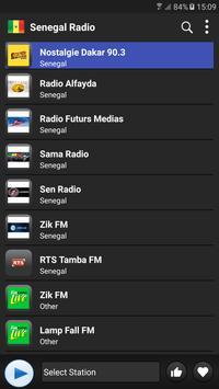 Radio Senegal   - AM FM Online plakat