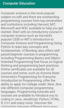 Computer Education screenshot 1