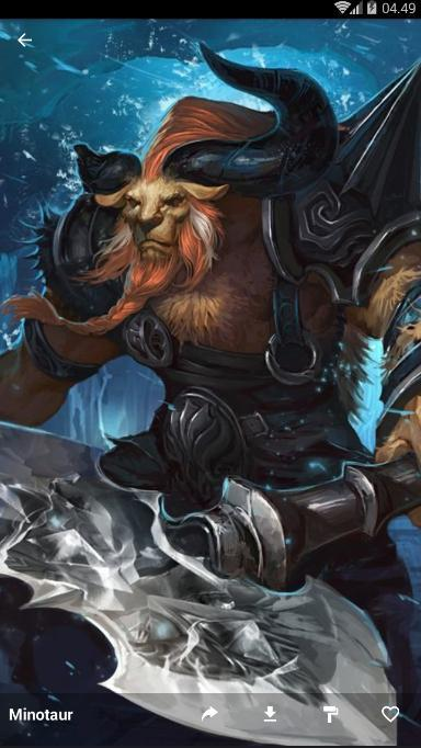 Minotaur Wallpaper Hd For Android Apk Download