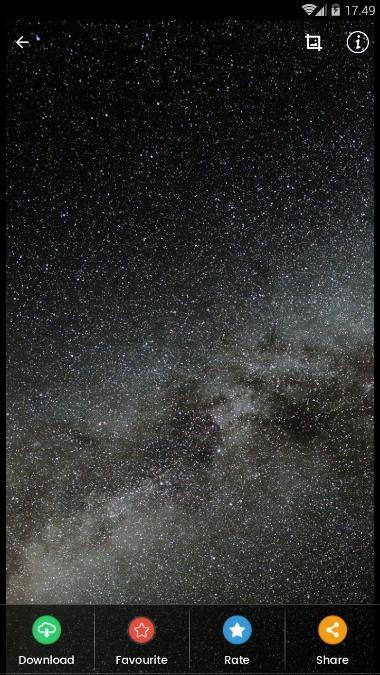 أحادية اللون النجوم السماء خلفيات Hd For Android Apk Download