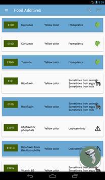 Food additives screenshot 10