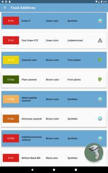 Food additives screenshot 5