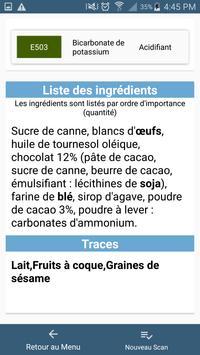 Additifs alimentaires screenshot 3