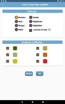 Additifs alimentaires screenshot 11