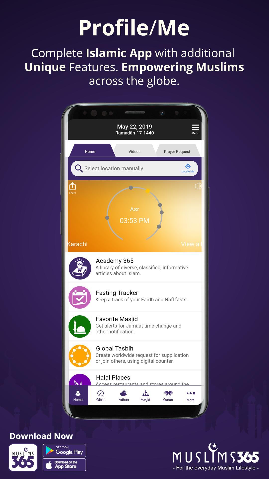 Download App Diverse Screen
