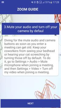 Guide For Zoom CLOUD MEETINGS AND CONFERENCING screenshot 3