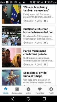 Noticias Cristianas poster