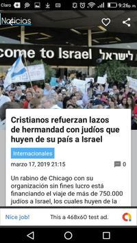 Noticias Cristianas screenshot 1