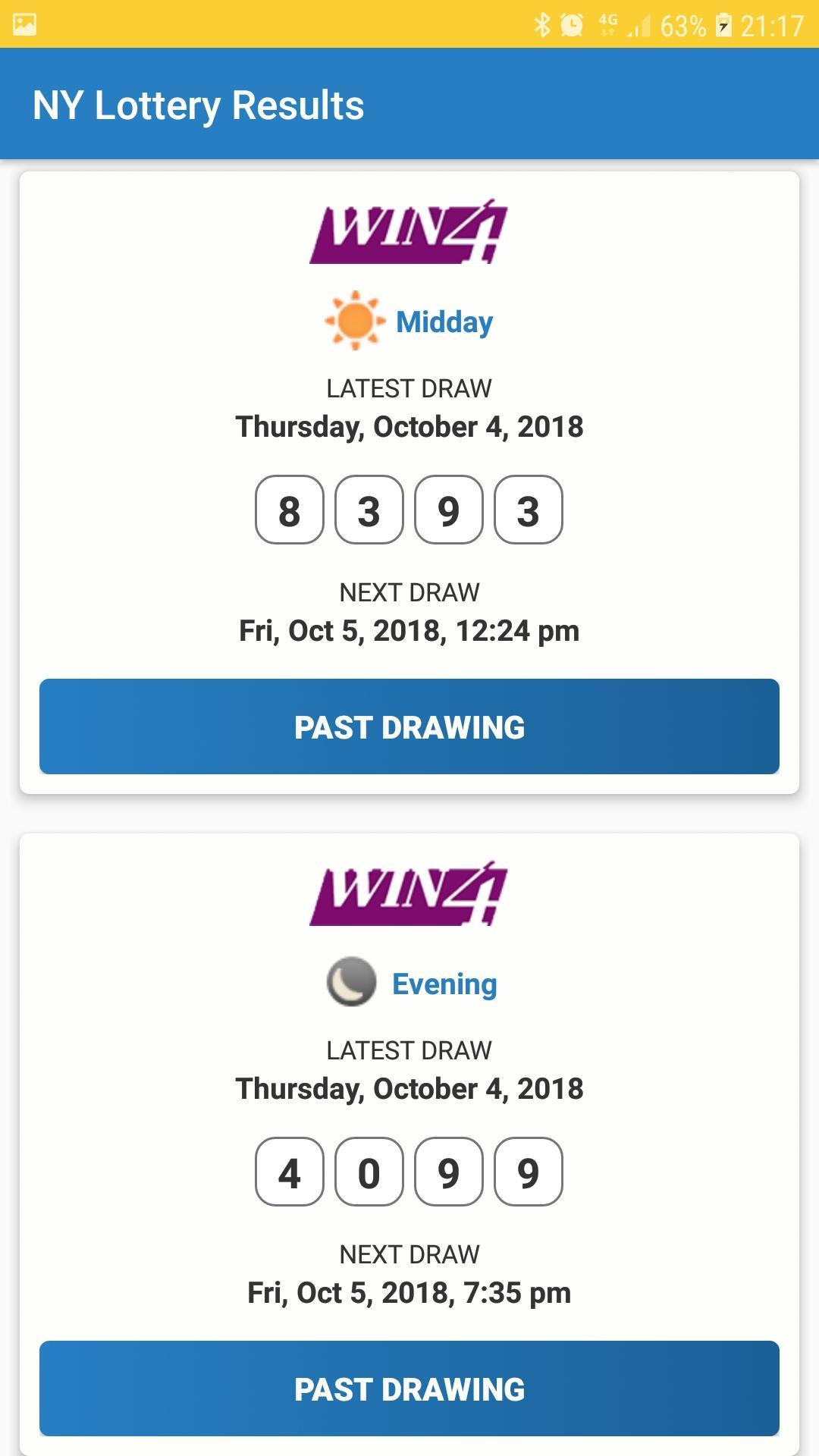 New York Lottery Results for Android - APK Download