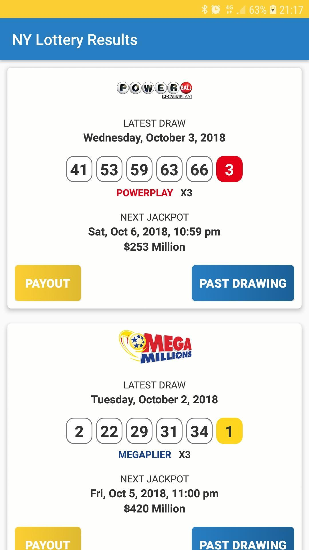 New York Lottery Results For Android Apk Download