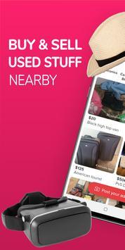 letgo marketplace Buy & Sell Used Stuff Locally poster