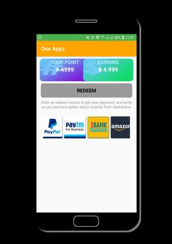 One Appz - Rewarded App. screenshot 2