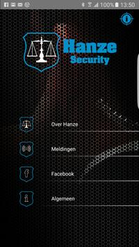 Hanze Security poster