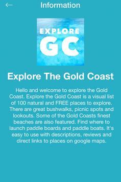 Explore The Gold Coast poster