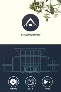 HOW Radio app poster