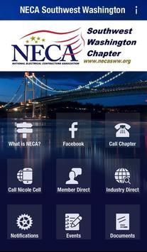 NECA Southwest Washington poster