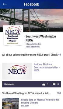 NECA Southwest Washington screenshot 2
