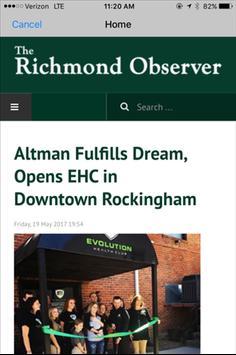 Richmond Observer screenshot 1