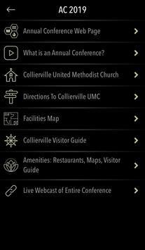 Memphis Conference UMC screenshot 1
