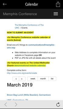 Memphis Conference UMC screenshot 3