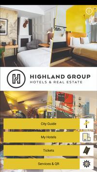 Highland Group Hotels poster