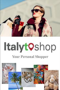 ItalyToShop poster