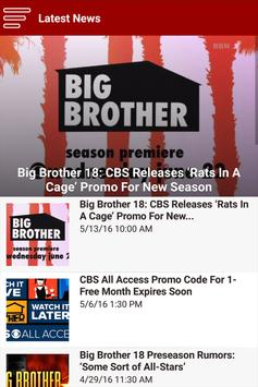 Big Brother Network screenshot 1