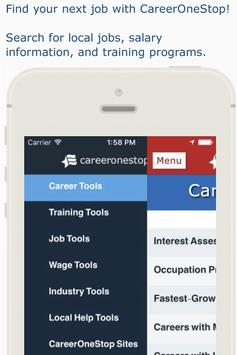 CareerOneStop Mobile poster