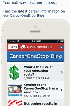 CareerOneStop Mobile screenshot 2