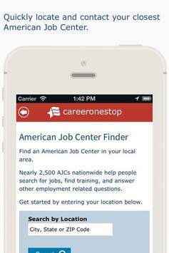 CareerOneStop Mobile screenshot 3