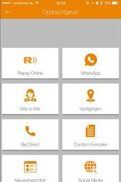 Repay HRM screenshot 2