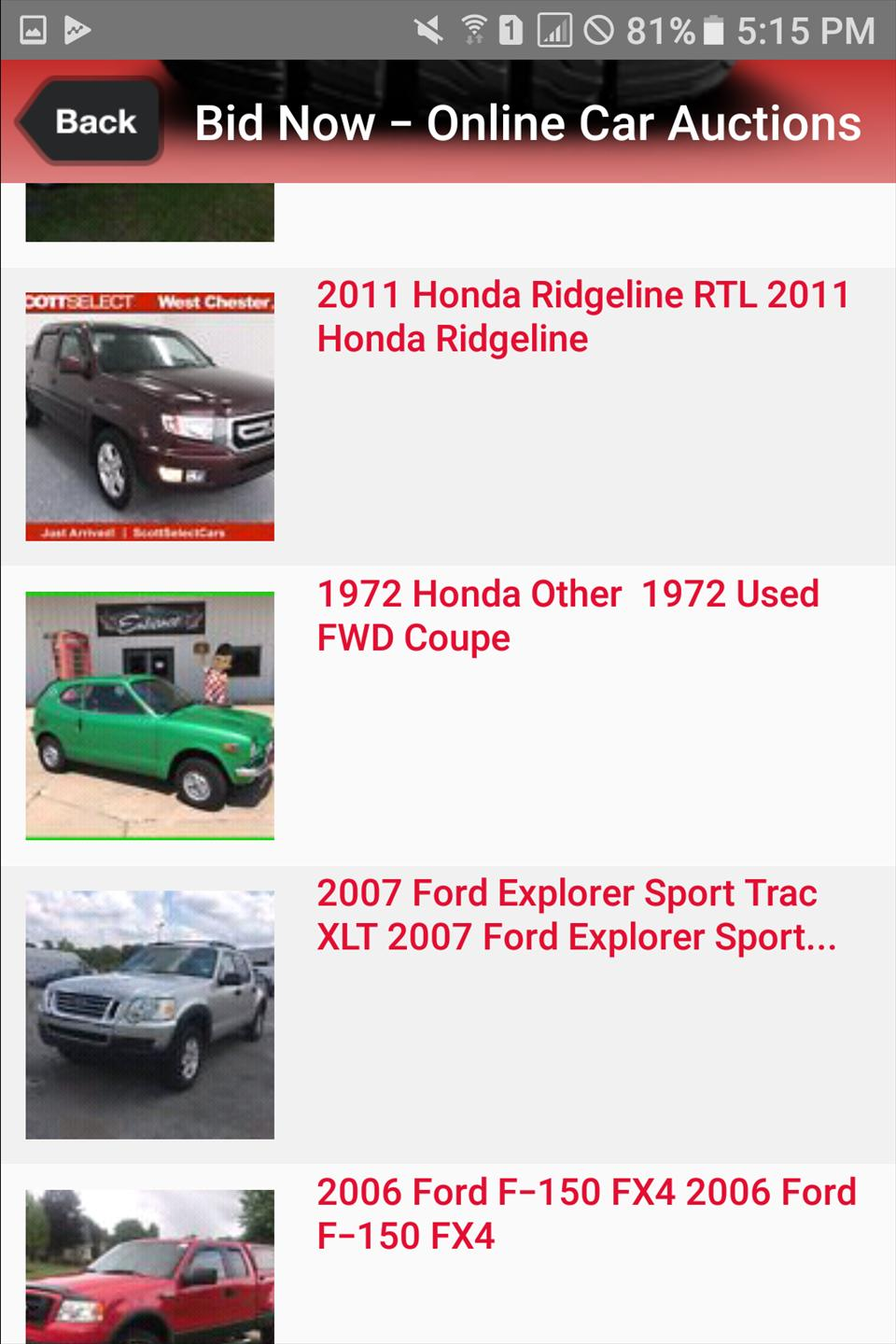 Online Car Auction >> Public Auto Auctions For Android Apk Download