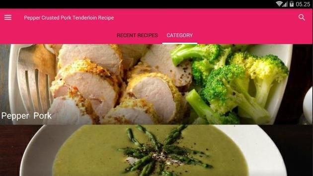 Pepper Crusted Pork Tenderloin Recipe screenshot 4
