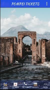 POMPEI TICKETS poster