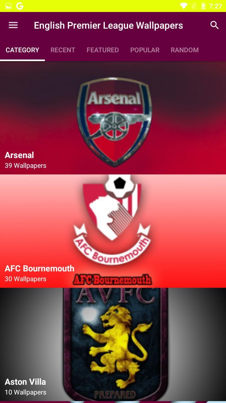 English Premier League Wallpapers Para Android Apk Baixar