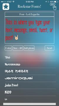 Rockstar Fonts! screenshot 16