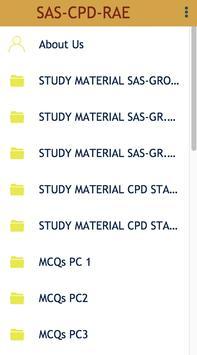 SAS-CPD-RAE screenshot 1