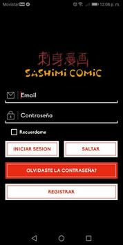 Sashimi Comic screenshot 1