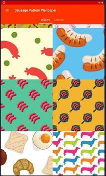 Sausage Pattern Wallpapers screenshot 1