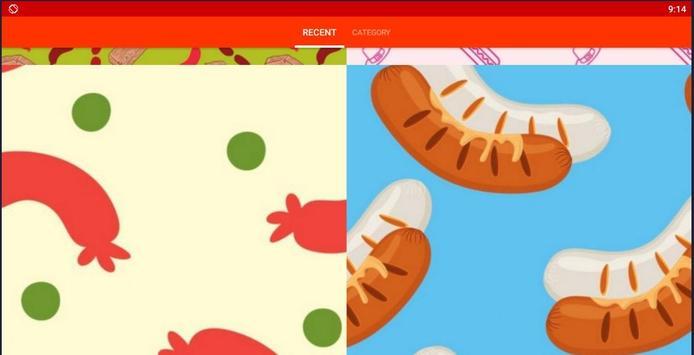 Sausage Pattern Wallpapers screenshot 6