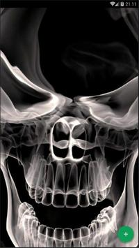 Skull Art Abstract Wallpaper screenshot 1