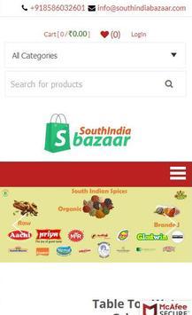 South India Bazaar poster