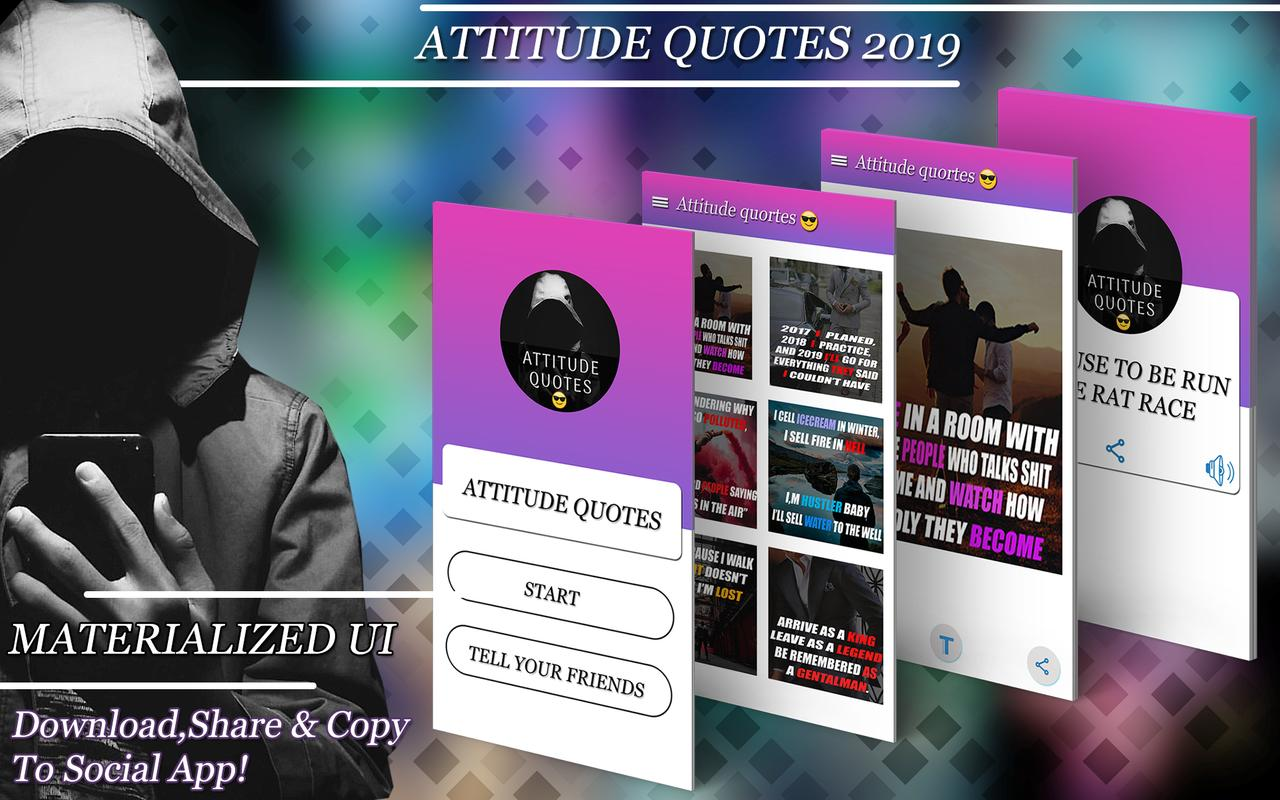 Attitude Quotes Positive Quotes Attitude Status For Android Apk