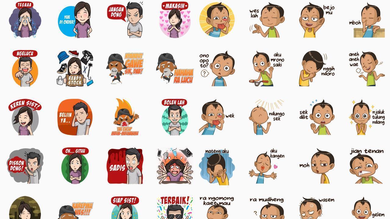 Stiker Whatsapp Jawa Lucu Ngapak For Android Apk Download