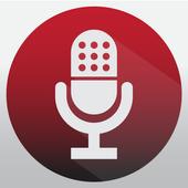 Enregistreur vocal icône